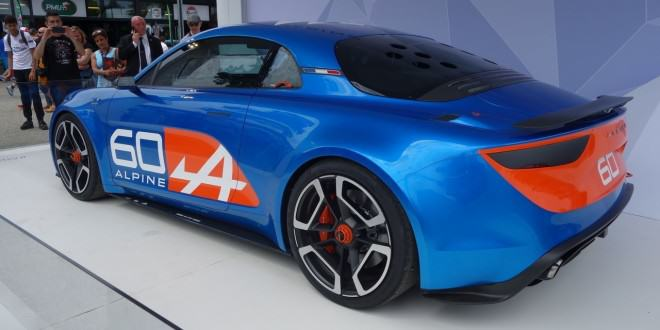 Renault Alpine Celebration Concept дебют в Ле-Мане