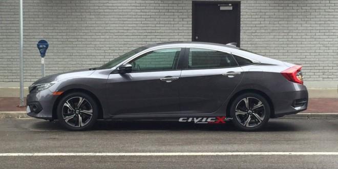 Первый взгляд на 2016 Honda Civic без маскировки