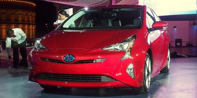 2016 Toyota Prius дебют в Лас-Вегасе