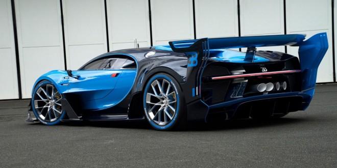 Автомобиль с видеоигры Bugatti Vision Gran Turismo Concept - 2015 IAA