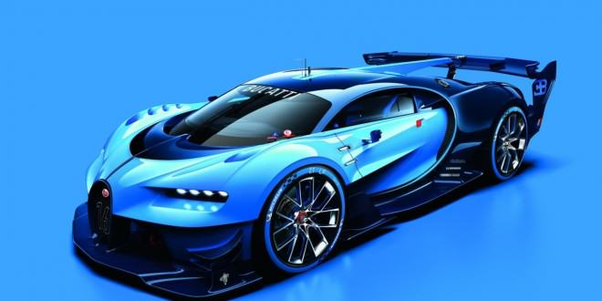 Bugatti Vision Gran Turismo concept представят на Франкфуртском автосалоне