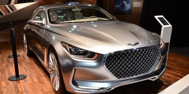 Европейский дебют Hyundai Vision G Concept - 2015 IAA