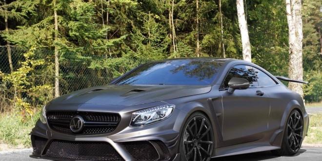 Крутой тюнинг MANSORY Mercedes-AMG S63 Coupe Black Edition