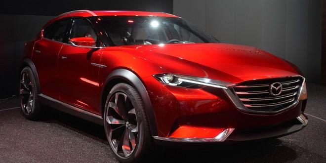 Mazda KOERU Concept дебют во Франкфурте
