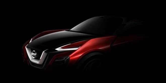 Концепт кроссовера Nissan Gripz дебютирует во Франкфурте