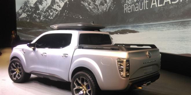 Новый пикап Renault Alaskan concept представлен в Париже