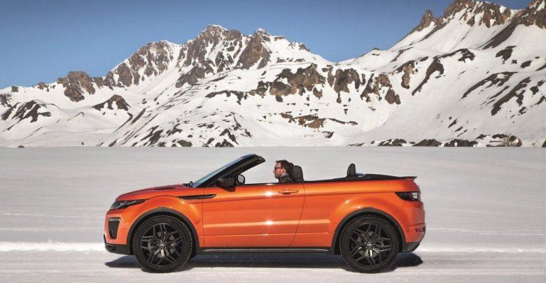 2017 Range Rover Evoque Convertible релиз новинки