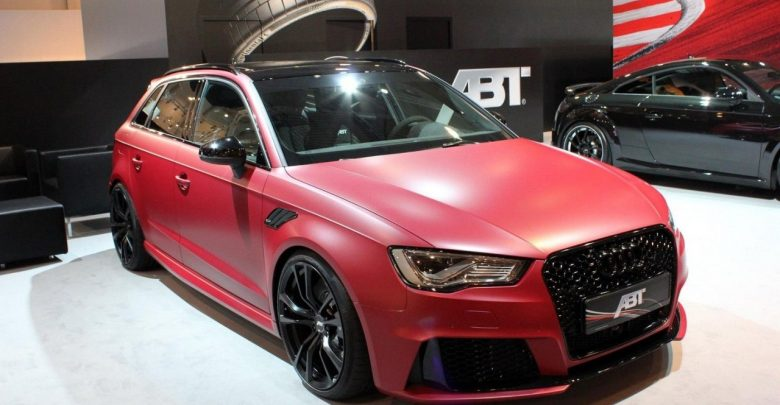 ABT Audi RS3 Sportback дебютировал на тюнинг выставке в Эссене