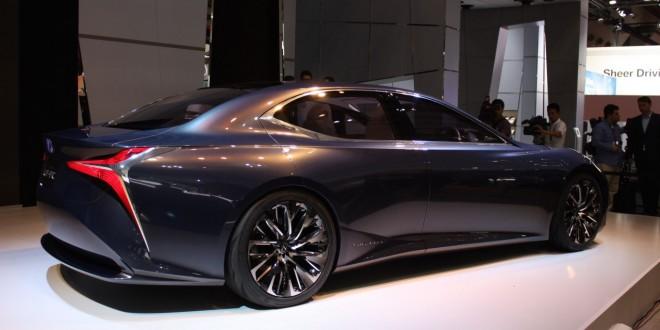 Автомобиль из будущего Lexus LF-FC Concept