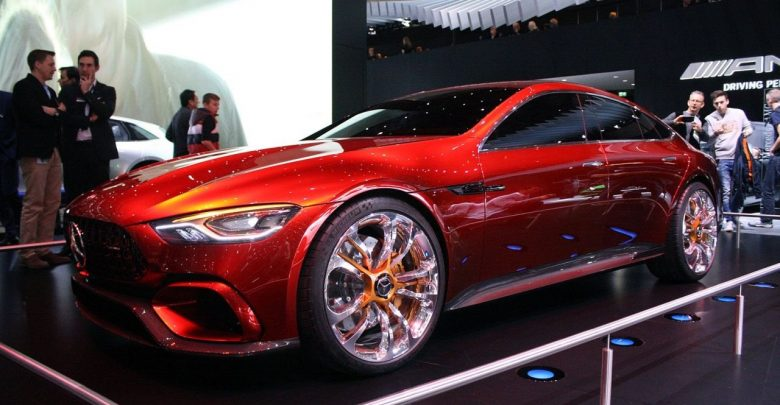 Mercedes-AMG GT Concept шикарный четырёхдверный седан