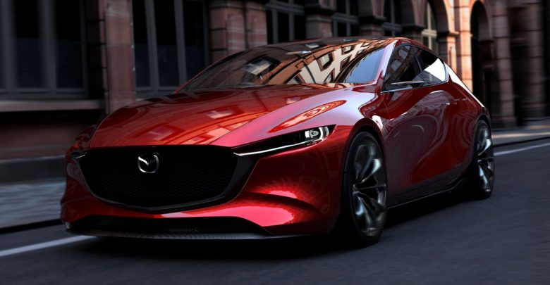 Mazda KAI Concept компактный хэтчбек дебютировал на автосалоне в Токио