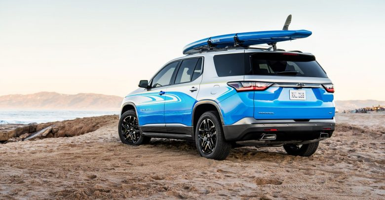 2018 Chevrolet Traverse SUP concept мечта любого sup серфера