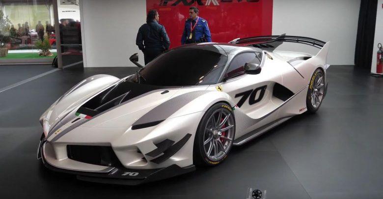 Ferrari FXX K Evo новый суперкар