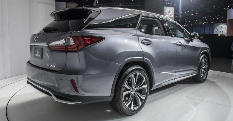 2018 Lexus RX L кроссовер с тремя рядами сидений