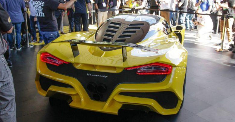 Hennessey Venom F5 абсолютно новый гиперкар 1600 л.с.