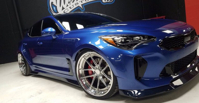 Прокаченный KIA Stinger GT Wide Body от West Coast Customs на SEMA 2017
