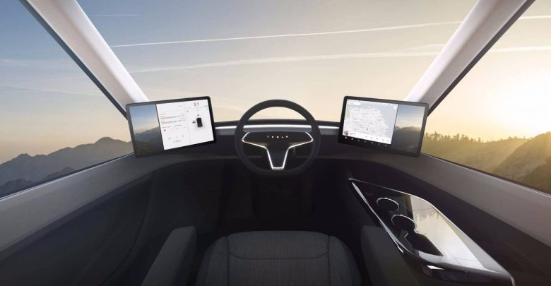 Tesla Semi электрогрузовик мечты 800 км без подзарядки