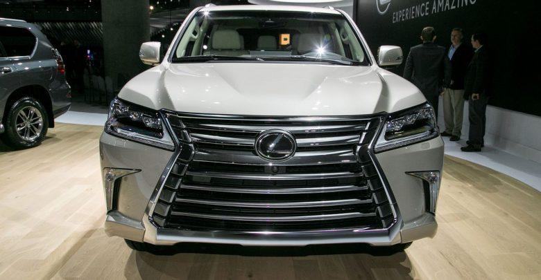 2018 Lexus LX 570 специальная версия