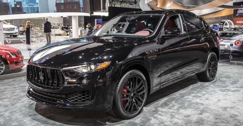 2018 Maserati Levante Nerissimo стильный пакет тюнинга