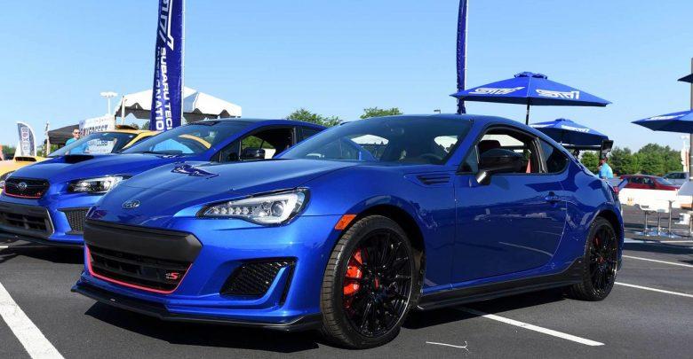 2018 Subaru BRZ tS специальная версия