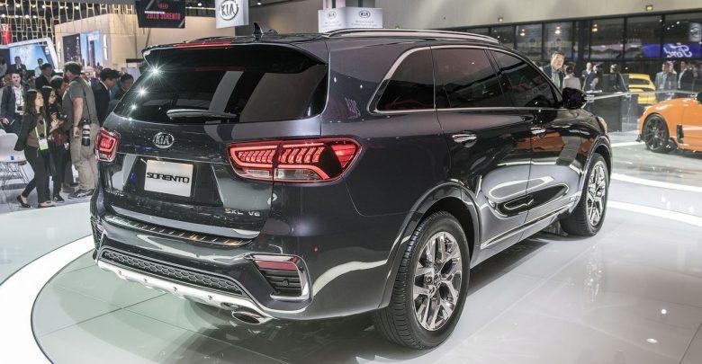 2019 Kia Sorento обновлённая версия