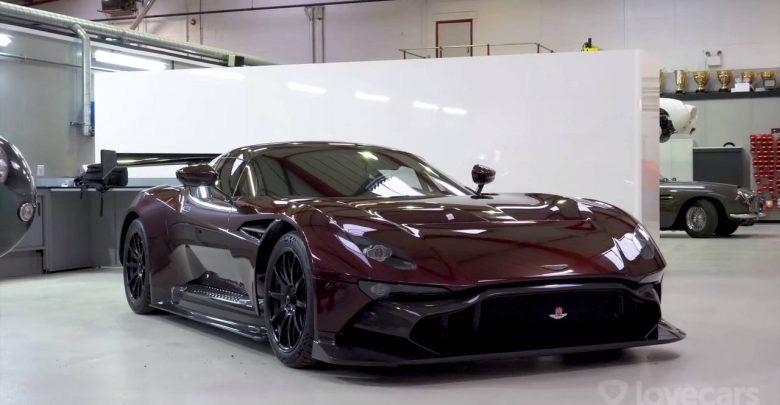 Первый Aston Martin Vulcan для дорог общего пользования