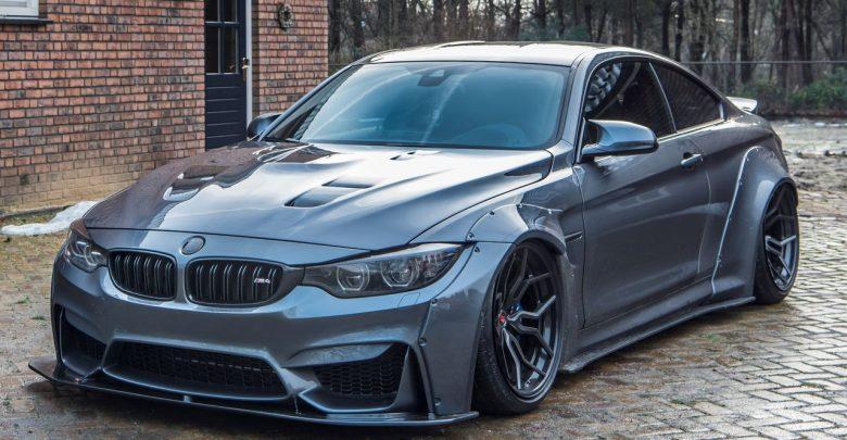 BMW M4 Liberty Walk роскошное спортивное купе