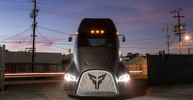 Thor ET-One электрогрузовик ближайшего будущего