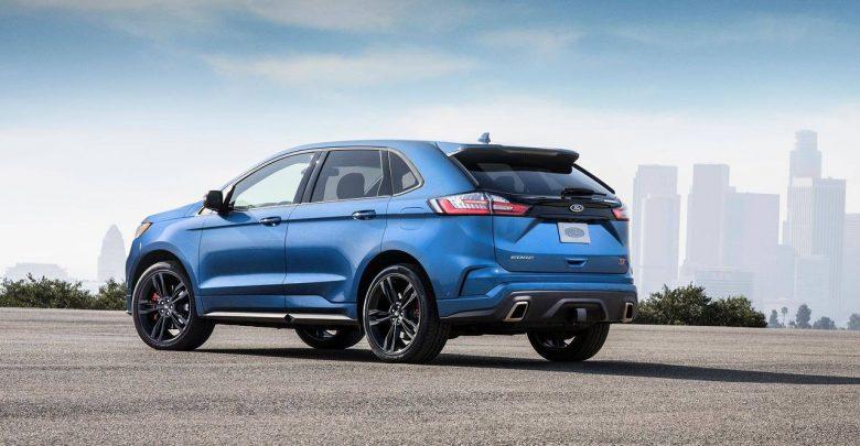 2019 Ford Edge ST высокопроизводительный кроссовер