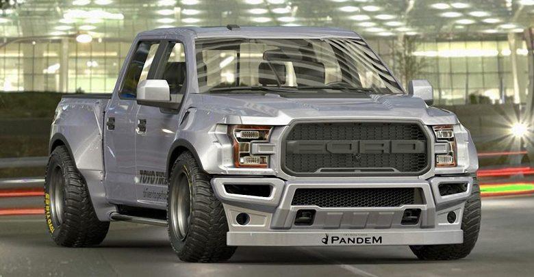 Pandem Ford F-150 Raptor представлен на тюнинг-шоу в Токио