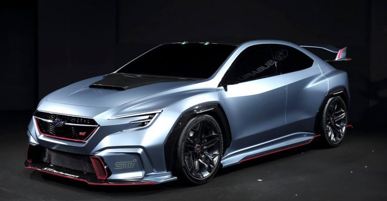 Subaru VIZIV Performance STI Concept это будущий WRX STI?