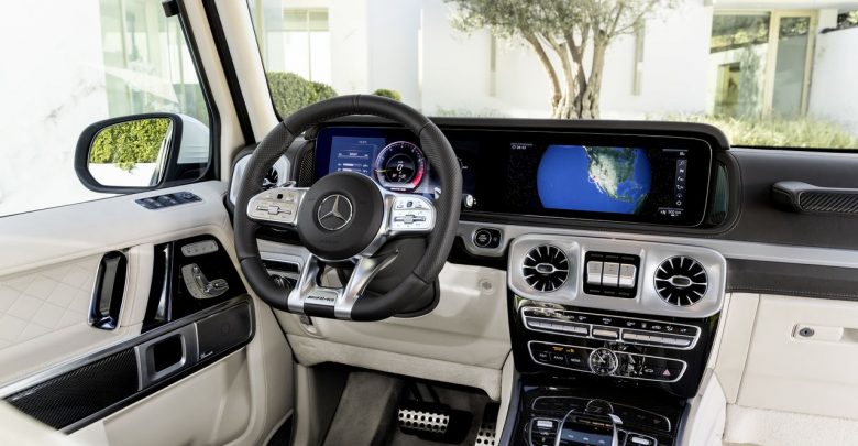 2019 Mercedes-AMG G63 новое поколение культового внедорожника