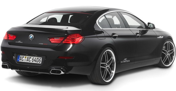 Тюнинг AC Schnitzer BMW 6 Series Gran Coupe