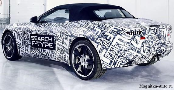Jaguar F-Type премьера состоится в конце года