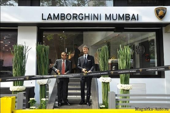 Открытие второго дилерского центра Lamborghini в Индии