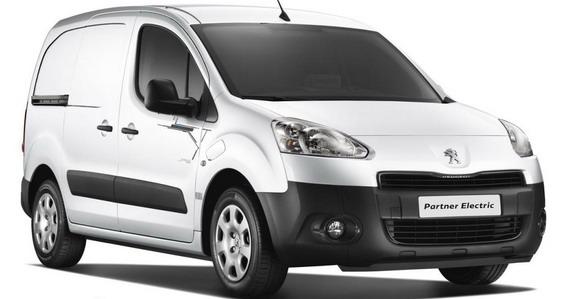 Новый электромобиль Peugeot Partner Electric