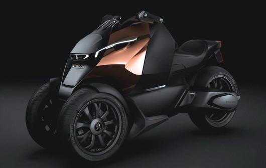 Концепт трицикла Peugeot Onyx Scooter