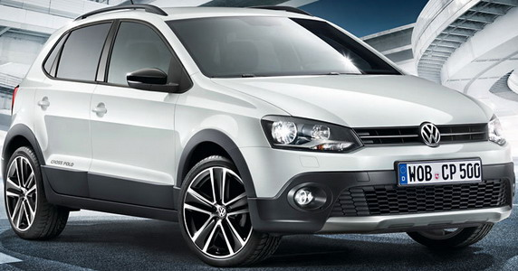 Volkswagen CrossPolo Urban White специальное издание